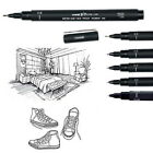 6 Pcs Uni Ball Pin Drawing Pen Fine Line 005 01 02 03 05 08 Needle Archival Pen