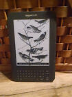 Amazon Kindle Keyboard (3rd Gen) D00901, 4GB ~ eReader ~ No Special Offers/ads