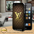 NEW LV15Gold Pattern Cover For iPod Samsung Galaxy Edge Note iPhone Plus Case