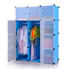 DIY Wardrobe Closet Cabinet Interlocking Cube Box Storage Organizer Shoe Case