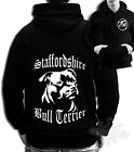 STAFFORDSHIRE BULL TERRIER ZIP HOODIE STAFFY FULL ZIP HOODIE DOG BREED