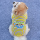 Pet Clothes Dog Vest T Shirt Cat Puppy Coat Clothes for Small Dog Poodle Bulldog