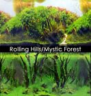 Rolling Hills Amazon/Mystic Driftwood Forest 18'-20' Aquarium Background