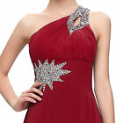 Long Bridesmaid Stunning Prom Evening Wedding Ball Gown Party Dresses Plus Size