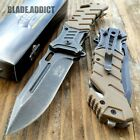 """8"""" Military BALLISTIC Tactical Combat Spring Assisted Open Pocket Rescue Knife"""
