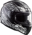 LS2 FF353 RAPID FULL FACE MOTORCYCLE HELMET BLACK/WHITE CRYPT