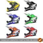 Wulfsport 2018 Childrens Kids Junior Cub Advance MX Motocross Quad Helmet