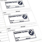 STAMPED Service History Log Book with BMW Stamp Replace history 1 2 3 Series