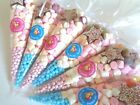 Pre Filled Sweet Cones - Boy & Girl's Party Bags - Free Stickers & Postage