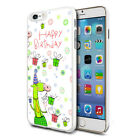 For Various Phones Design Hard Back Case Cover Skin - Happy Birthday