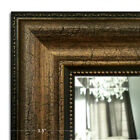 West Frames Bathroom Vanity Framed Wall Mirror Distress Classic Crackle Gold
