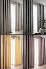 Florence Abstract Modern Ring Top Eyelet New Curtains With All Over Bold Design
