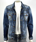 True Religion $329 Men's Jimmy Super T Slim Denim Jacket - MDQBP627M