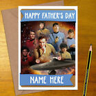 STAR TREK Personalised Mother's / Father's Day Card - mum dad mothers fathers on eBay