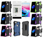 Hybrid Case w/ Kickstand, Clip Holster, Screen Protector for iPhone 8, iPhone 7