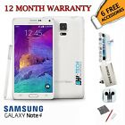 Samsung Galaxy Note 4, N910, 32GB, White, Black, Unlocked, Smartphone NEW