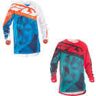 Fly Racing Kinetic Mesh Crux MX Motocross Offroad Jersey