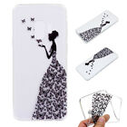 Cute Pattern Soft Silicone TPU Clear Case Cover For Samsung Galaxy S9/S9 + Plus