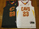 Lebron James Cleveland Cavaliers Swingman Black White Stitched Jersey w Tag NEW