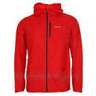 PATAGONIA Mens HOUDINI JACKET Lightweight Windbreaker - Fire Red