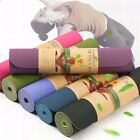Non Slip Durable TPE - Lightweight - Eco-Friendly - Pilates Yoga Mat with Strap image