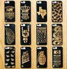 Luxury Wooden Cases Smartphone Covers Wood/Bamboo For Apple iPhone &Samsung+Gift
