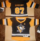 Pittsburgh Penguins Sidney Crosby NHL Infant Replica Hockey Jersey