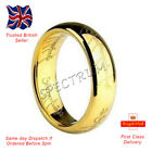 Lord Of The Rings Hobbit Ring Jewellery Gold Plated