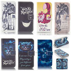 Alice in Wonderland Cheshire Cat Leather case for LG G4 p1304