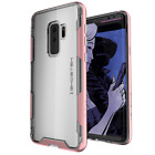 For Galaxy S9 Plus S9+ Case | Ghostek CLOAK Clear Hybrid Wireless Charging Cover