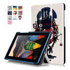 Magnetic Flip Leather Stand Cover Case For Lenovo Tab 2 3 4 7 7.0/8.0/10.0 Inch