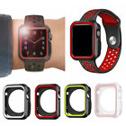 iWatch Case Cover for Apple Watch Series 3/2/1 Sport Silicone Protective 38/42mm