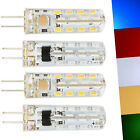 G4 Mini LED Corn Bulb Silicone 3014 SMD 3W 4W 220V Light Crystal Chandeiler Lamp