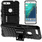 G-Shield® Shockproof Heavy Duty Hard Armour Stand Case Cover For Google Pixel