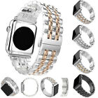 Luxury Stainless Steel Link Bracelet Watch band Strap For Apple Watch Series NE