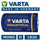 Batterie D / MONO / LR20 Varta Industrial 17000mAh Alkaline Batterien Made in DE