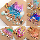 20PCS Eyeshadow Eyeliner Makeup Brush Set Face Powder Lip Blush Cosmetic Brush