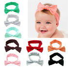 Baby Girl Toddler Solid Headband Hair Band Accessories Headwear For Infant UK