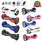 2 WHEELS SELF BALANCING SCOOTER ELECTRIC SMART BALANCE BOARD  LED+BLUETOOTH+BAG