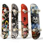 COMPLETE SKATEBOARD MULTI COLOUR SKATE BOARD CRUISER LONGBOAR 22/24/31/41 INCH