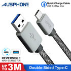 Braid USB 3.1 FAST Type-C to Male Data Cable Huawei Sony Xiaomi Google Pixel 2XL