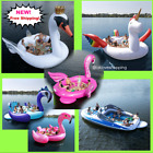 Sun Pleasure Party Bird Island For 6 Person Water Float Lounge Lake Raft Lounge!