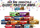 Quest Nutrition PROTEIN BAR Box of 12 Bars - Gluten Free, Sugar Free PICK FLAVOR