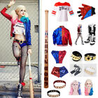 Cosplay Costume Women's T-shirt Harley Quinn Jacket Suicide Squad Accessories