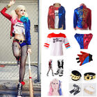 Harley Quinn Cosplay Suicide Squad Jacket Wig Belt Accessories Batman Costume