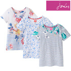 Joules Nessa Print Ladies Jersey T-Shirt (Y) **FREE UK Shipping**
