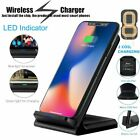 QI Induktive Wireless Charger Stand Ladestation für Samsung S6 S7 S8 S9 Plus DHL