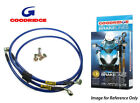 Goodridge Yamaha RD500LC 84-87 Front Braided Brake Lines Hoses Stainless Steel