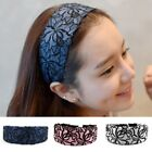 Rose Embroidery Lace 3 Colors Wide Headband Hairband Headwear For Women Girl