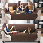 sofa covers throws - 3SZIE QUILTED SOFA COVER CHAIR THROW PET DOG KIDS FURNITURE PROTECTOR SLIP COVER